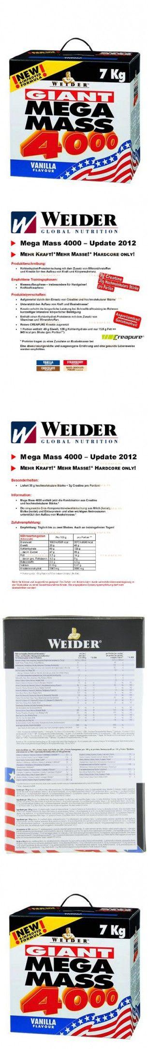Weider Giant Mega Mass 4000 Giant Mega Mass 4000 Weight
