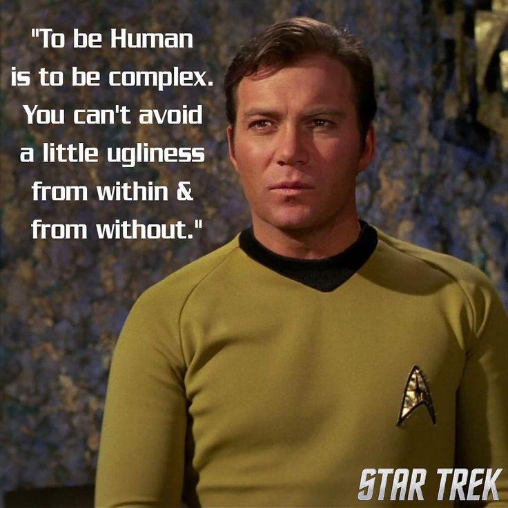 "6,540 Likes, 28 Comments - Star Trek (@startrek) on Instagram: ""#WednesdayWisdom #TOS #Kirk #StarTrek"""