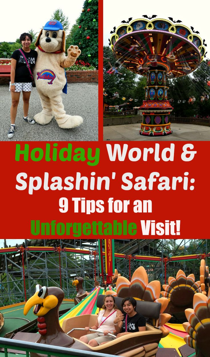 Holiday World and Splashin' Safari in Santa Claus, Indiana: tips for an unforgettable visit!