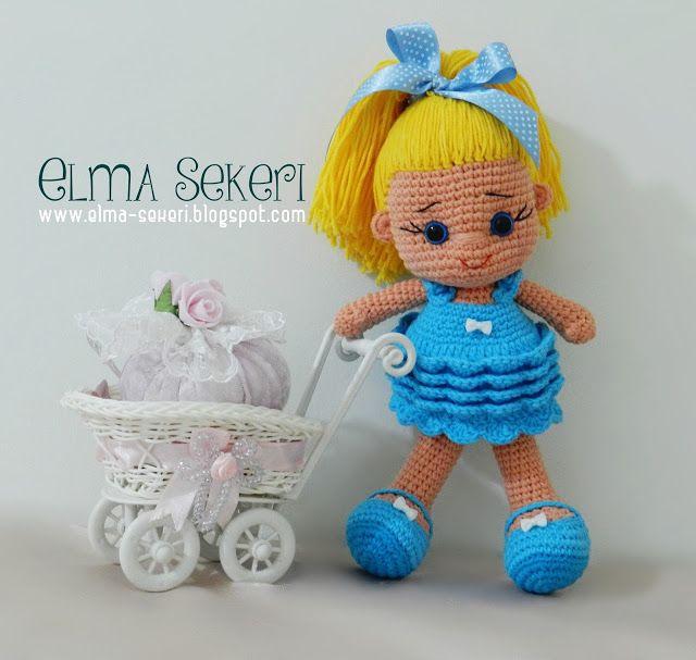 Elma Şekeri El Sanatları Atölyesi - Amigurumi Bebekler ve Örgü Modelleri: Yarn Art Jeans / Amigurumi Bebek