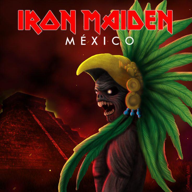 ArtStation - Iron Maiden México, Aracely Mitsu