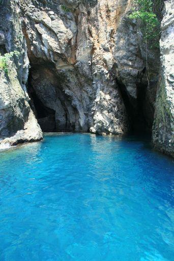 La Grotte aux Chauves-souris,aux Anses d'Arlets. cette cavité héberge une colonie de chauves-souris
