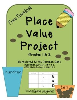 Free - Place Value Project