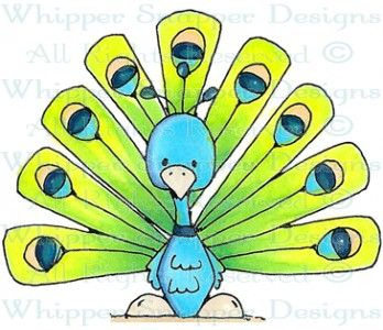 Patti Peacock - Birds - Animals - Rubber Stamps - Shop