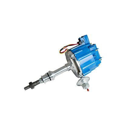Top Street Performance JM6510BL HEI Distributor with Blue Cap (50K Volt Coil)