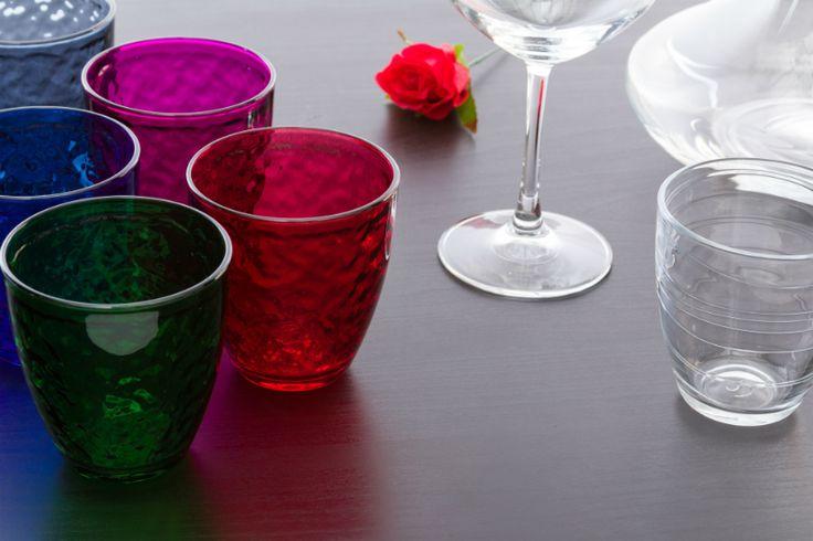 Un sorso d'estate con i bicchieri colorati Kasanova!