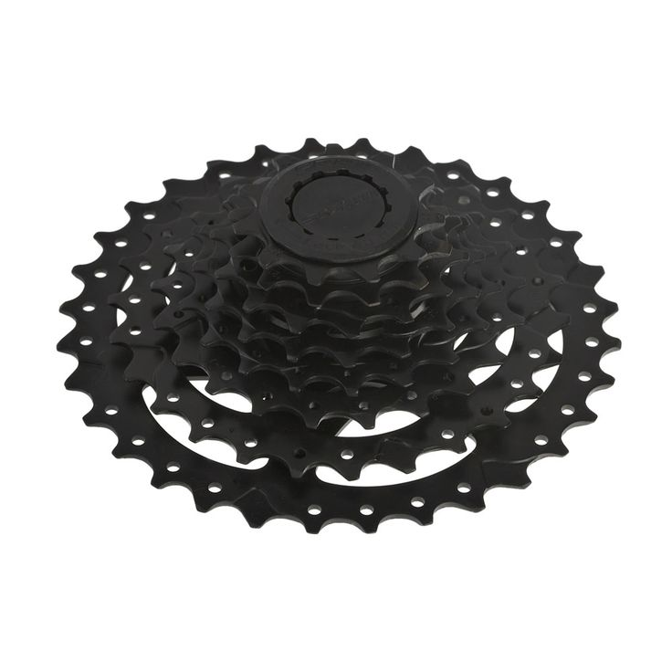 PowerGlide II features 8-speed performance with steel lock ring material. It also features sprocket material madefromDuraBlas. If you are looking for a quality cassette, this is one of the best choices we have.