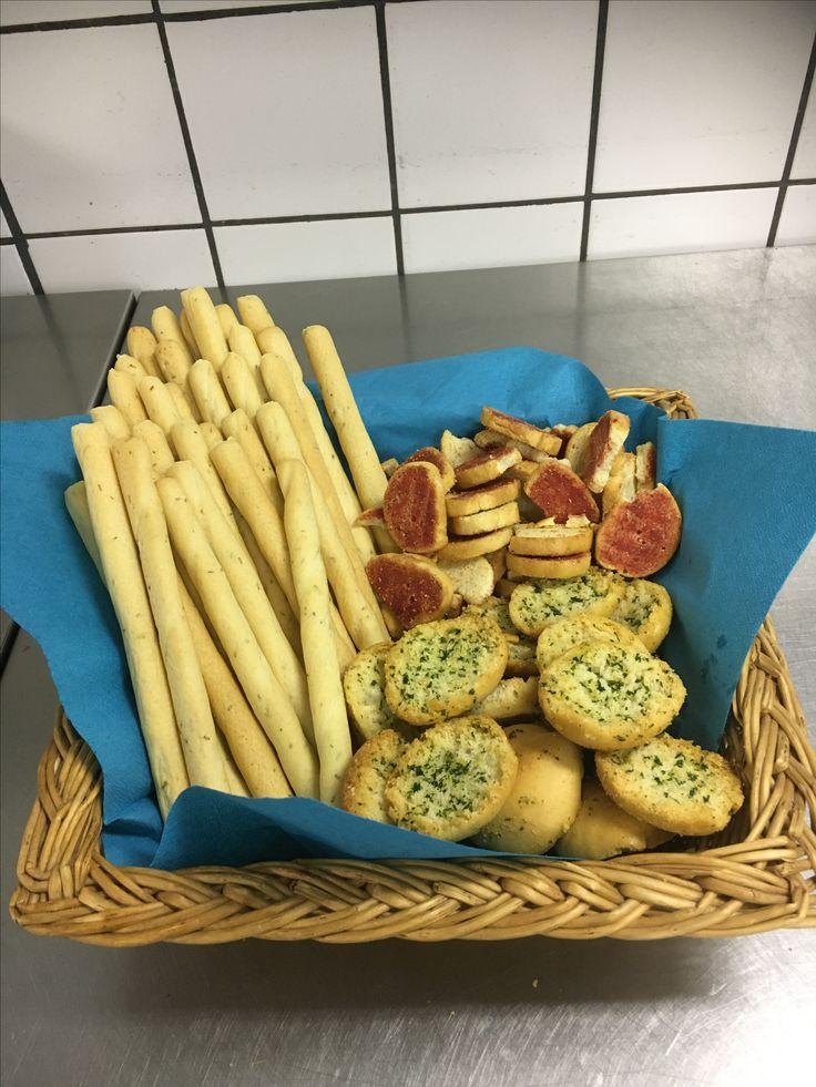 Lekker bij een soepbuffet,of tapas hapjes.lekkere garnituur. www.catering-geurt.nl