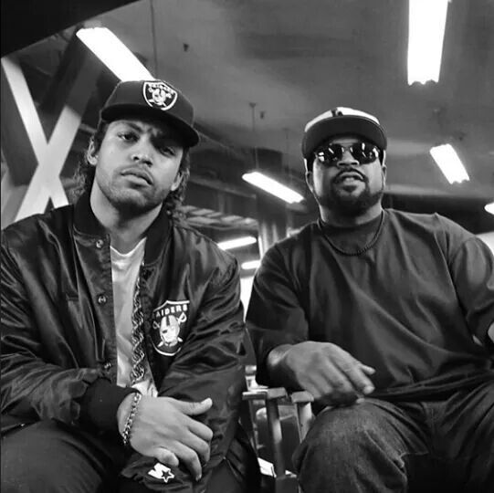 Ice Cube & Oshea Jackson Jr. (Ice Cube Jr.)