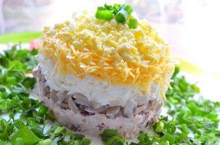 Самые вкусные рецепты: Салат Ночь