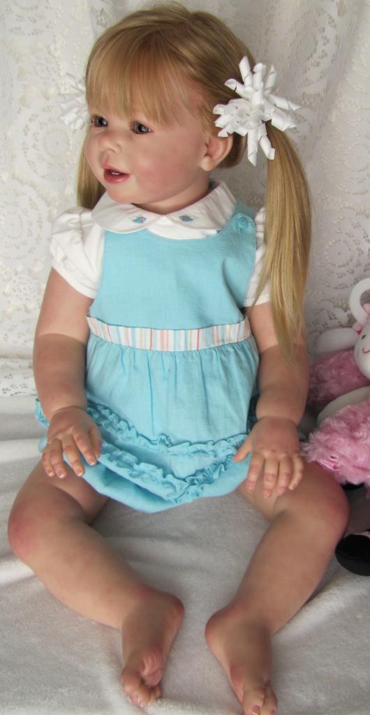 "Nancy's Lil Darlings Katie by Ann Timmerman Adorable 30"" Toddler Girl Reborn"