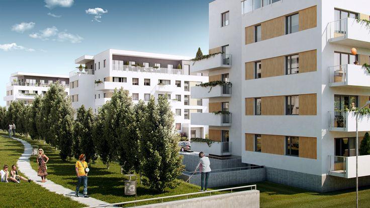 Wizualizacje zewnętrzne – Trzy Diamenty Apartamenty Opole – Atlantisdeweloper
