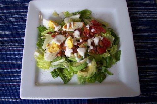 BLT Egg and Avocado Salad