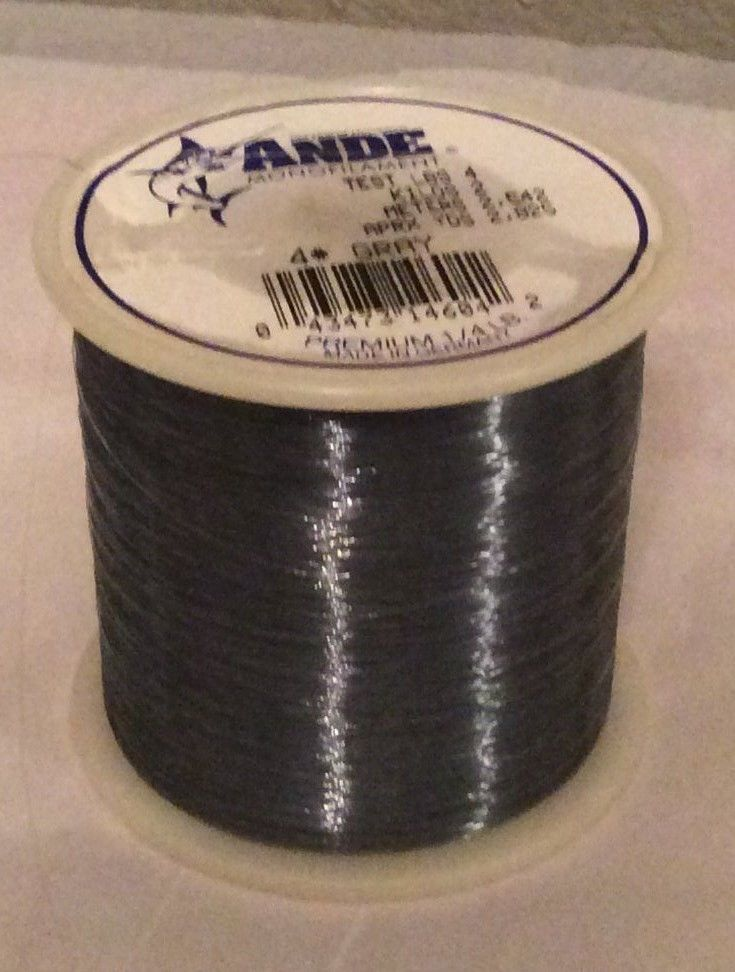Ande Premium Monofilament Fishing Line - 50 Lb Test - 2825 Yards - gray #Ande