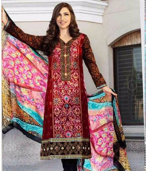 Tawakkal Embroidered Suit Verve Fancy Collection 3009_A