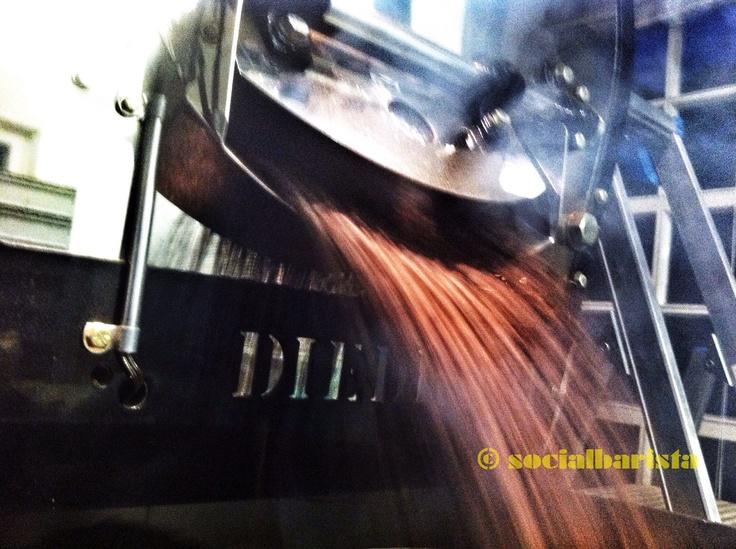 Diedrich UR12 roastmachine