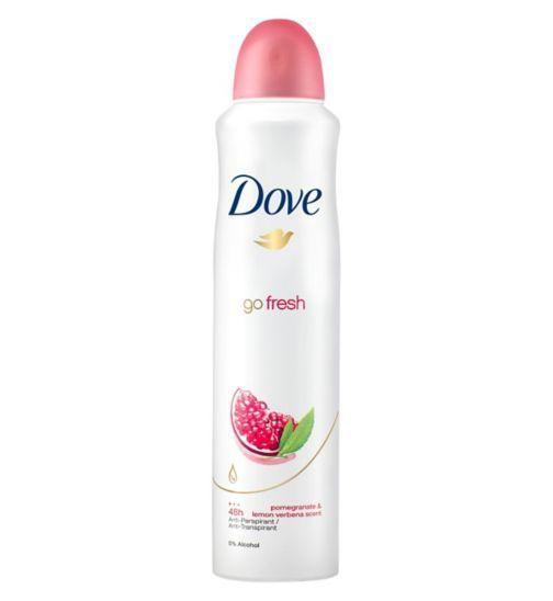 Dove Go Fresh Pomegranate and Lemon Verbena Anti-Perspirant Deodorant - Boots