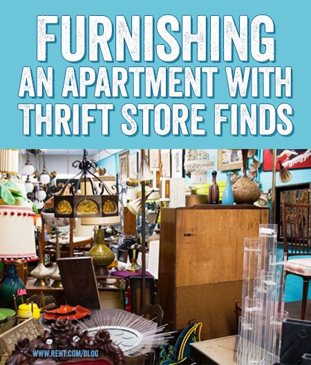With a little re-purposing, your apartment can look like a million bucks without paying it. Here are some tips to help you get the best thrift store finds