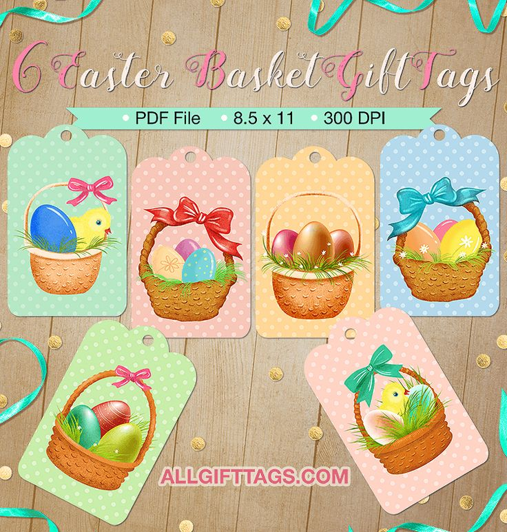 220 best gift tags at allgifttags images on pinterest free printable easter basket gift tags the tags feature colorful eggs and cute baby chicks in negle Choice Image