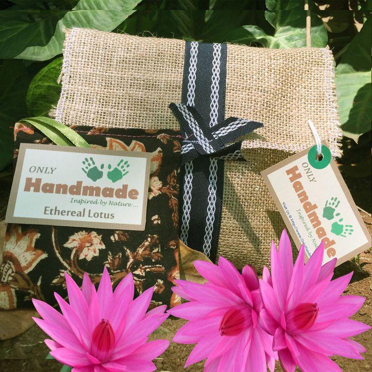 Ethereal Lotus Perfumed Sachet - OnlyHandmade