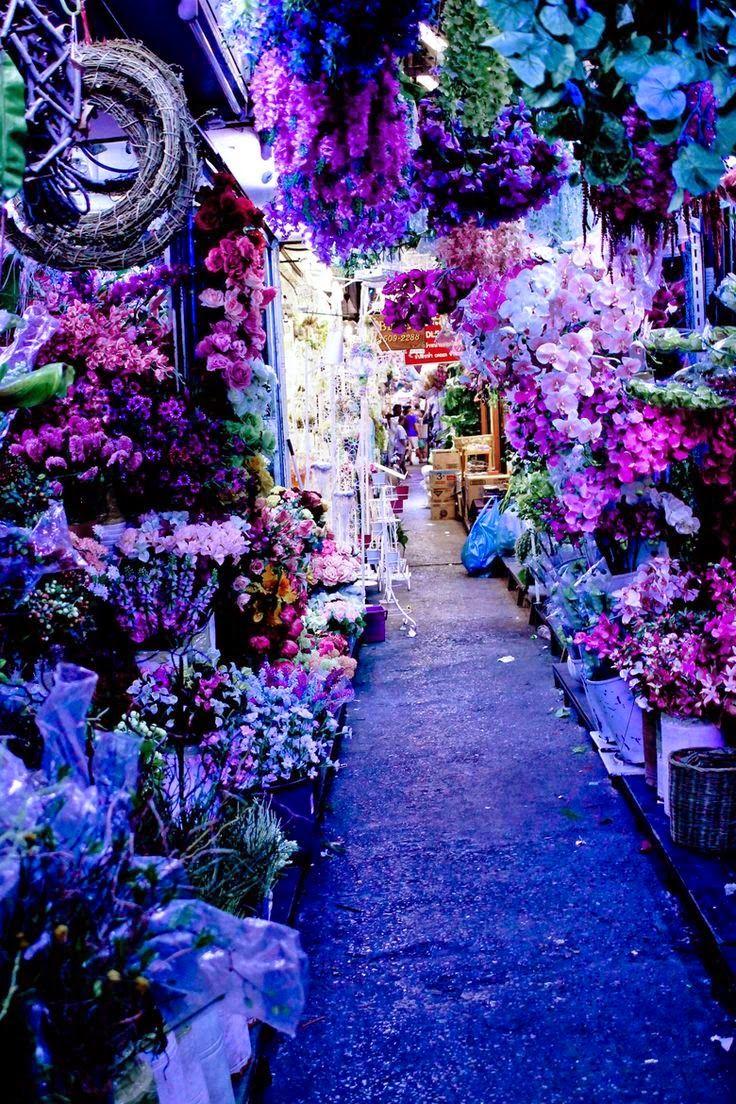 Mercado Púrpura, Bangkok, Tailandia
