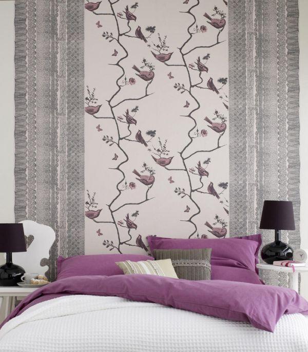 Bedroom wallpaper ideas » Adorable Home