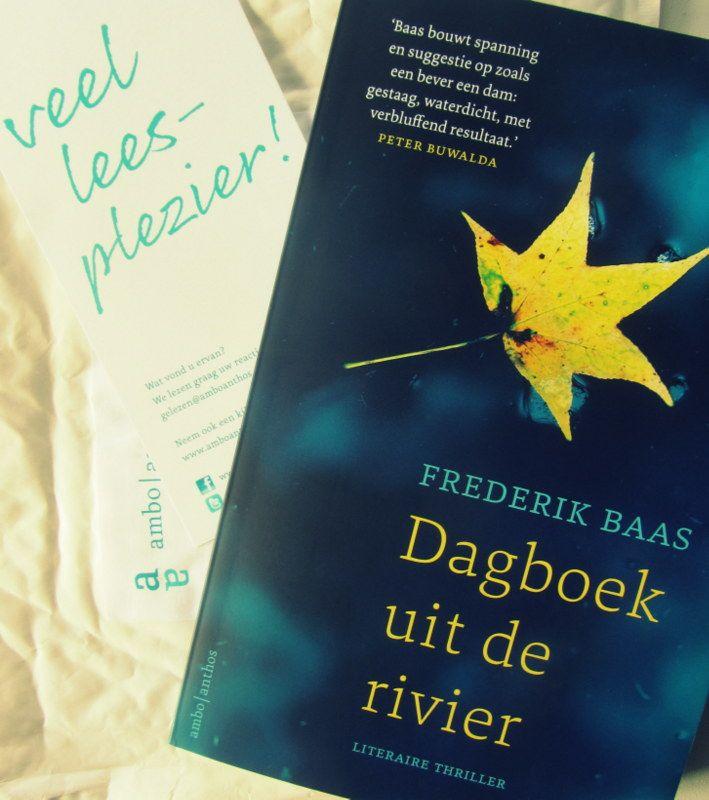 """""""Dagboek uit de rivier is een subtiele, ingenieuze thriller. Frederik Baas verkent de grenzen van de illusie en maakt met zijn ogenschijnlijke eenvoudige taal en verhaal diepe indruk."""" Ik ben benieuwd! #hebbanbuzz"""