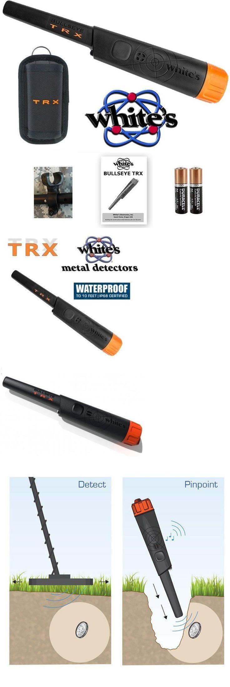 Metal Detectors: Whites Bullseye Trx Pinpointer Metal Detector Pro Pin Pointer + Holster And Holder BUY IT NOW ONLY: $149.95