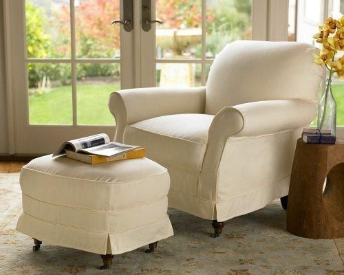 image detail for pottery barn savannah armchair slipcovers find this pin and more on reading room by i want a big comfy reading chair