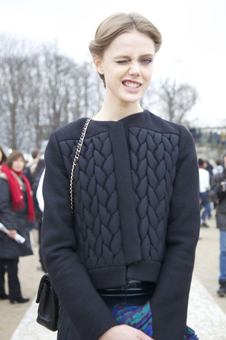 fashion is born on the street, streetstyle - STYLE DECORUM http://www.styledecorum.com/