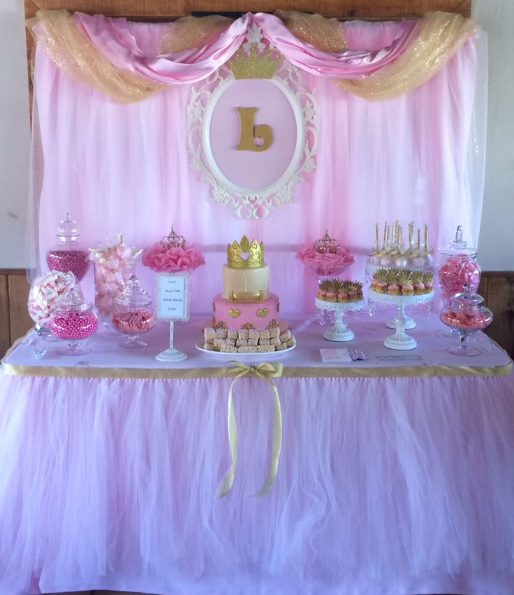 Princess Candy Dessert Table By Bizzie Bee Creations