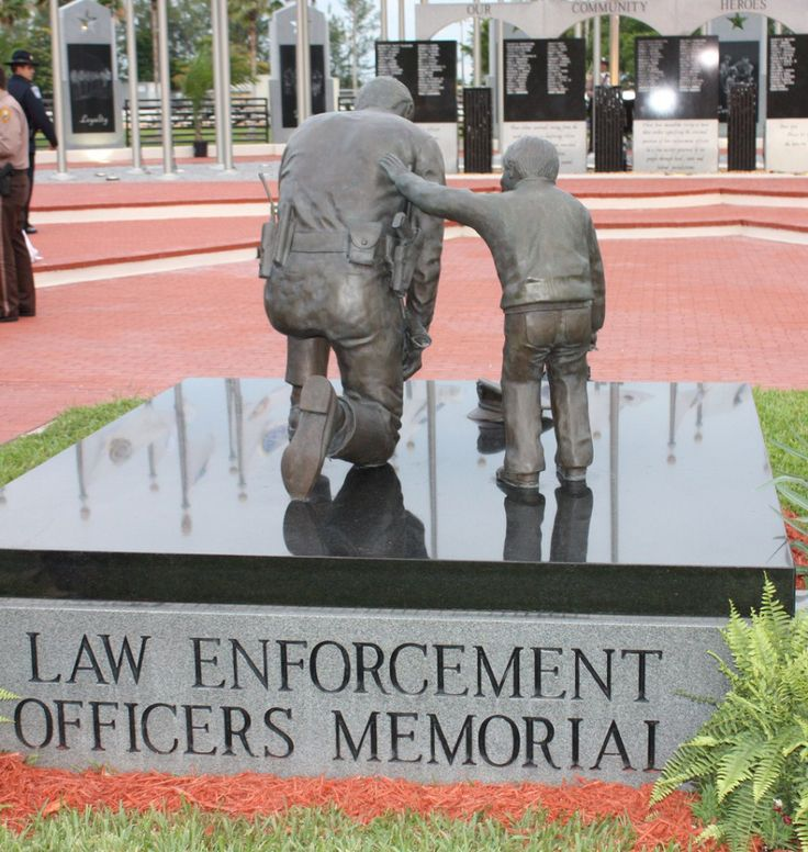 Law Enforcement Officers Memorial.  Unfortunately, I will see this in person with my son's name etched in it in May, 2014.