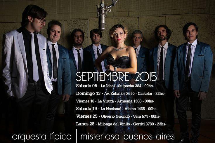 A bailar con Misteriosa Buenos Aires en septiembre