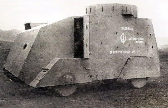 Los blindados de ruedas autóctonos en la Guerra Civil Española  Todo sobre la Segunda Guerra Mundial