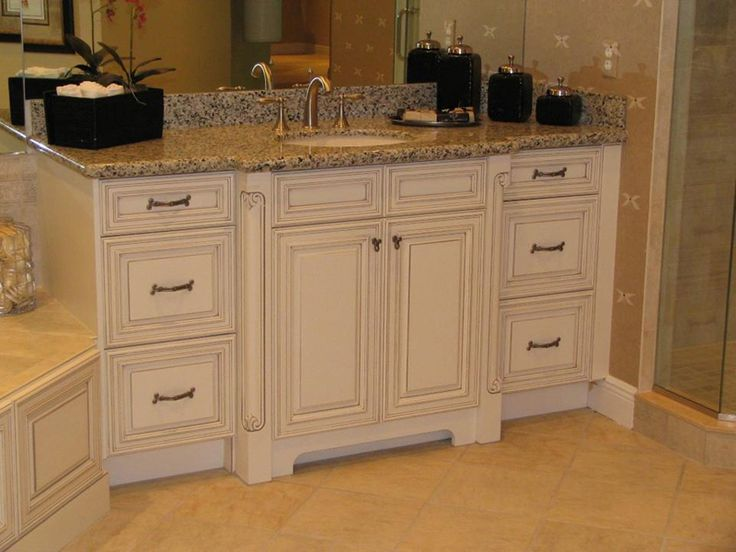 Custom Glazed Kitchen Cabinets