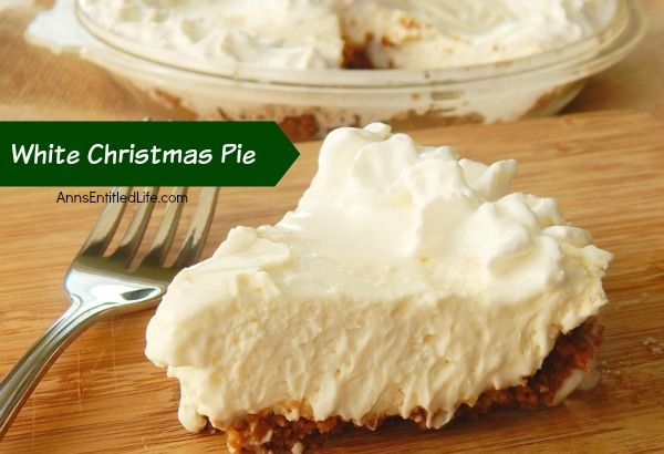 White Christmas Pie Recipe                                                                                                                                                                                 More