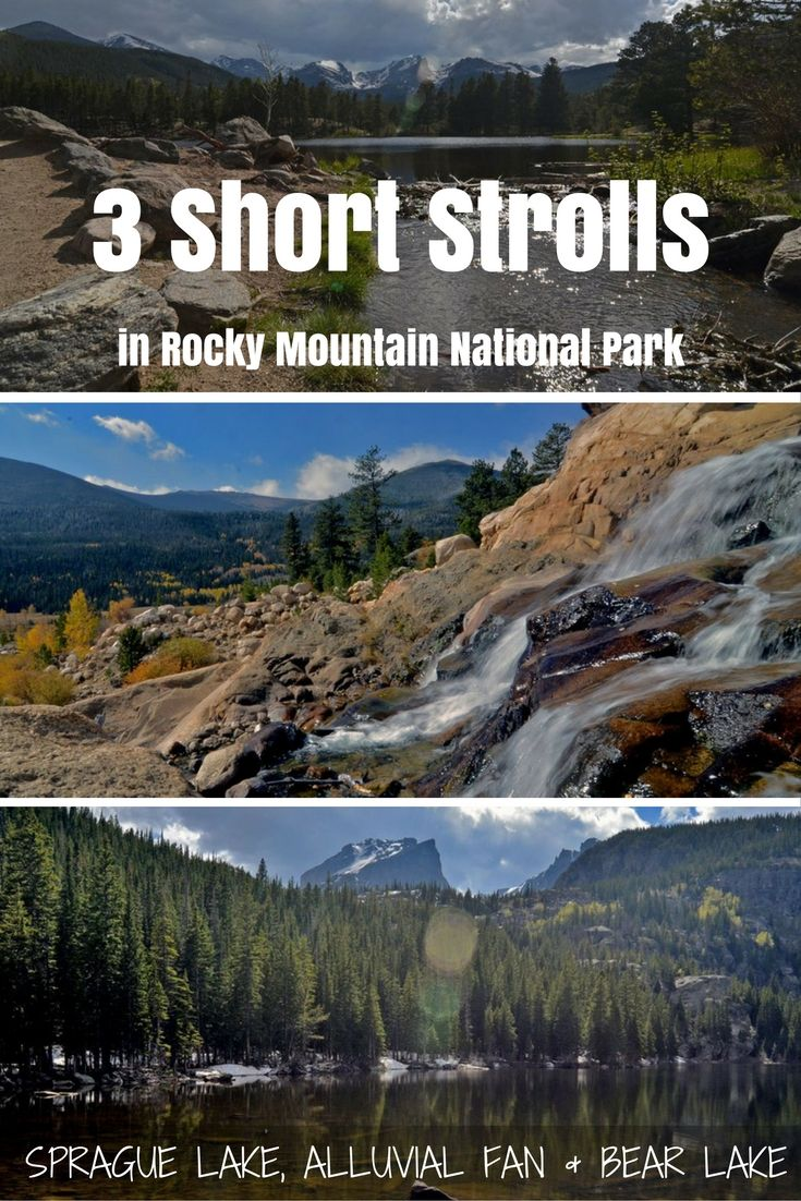 Rocky Mountain National Park in Colorado has some amazing hiking options, but if you only have time for a short visit, these three hikes could all be done in one day & still leave you plenty of time for more exploring!