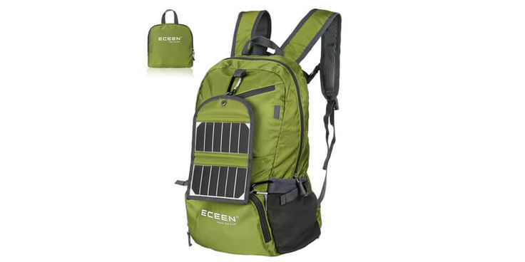 Best Solar Backpacks 2016: 10 Best Selling Solar Powered Backpacks to Charge Your Gadgets as You Walk Around