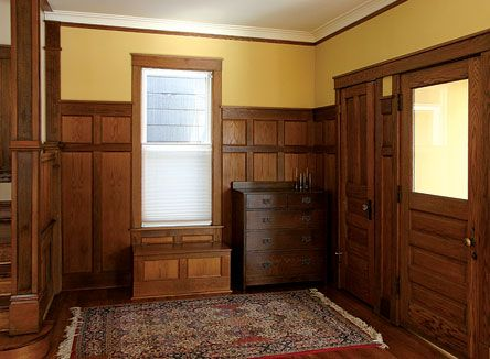 17 best images about 1890 39 s 1920 design elements on for Arts and crafts wainscoting