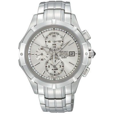 SEIKO SNAE71P1 COUTURA,ALARM CHRONOGRAPH,100M WR,BRAND NEW, SNAE71 *** Discover this special product, click the image