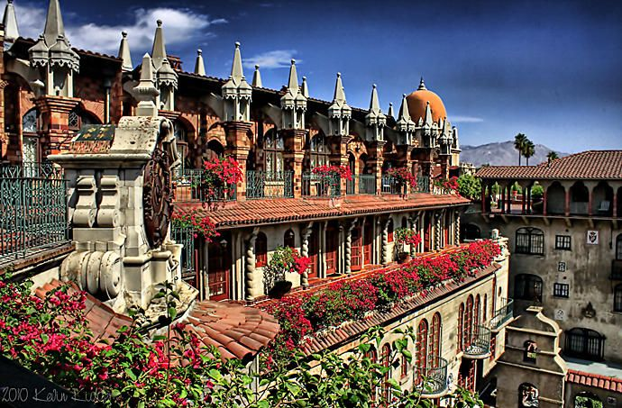 The Mission Inn Hotel & Spa in Riverside, Southern California