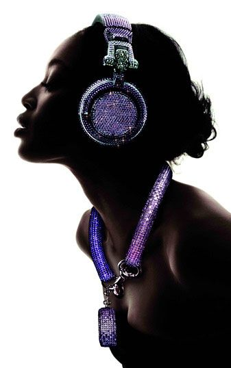 Swarovski Fashion Rocks – DJ Headphones