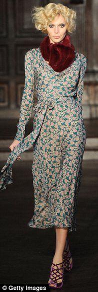 New York Fashion Week: Mick Jagger supports designer fiancee L'Wren Scott | Mail Online