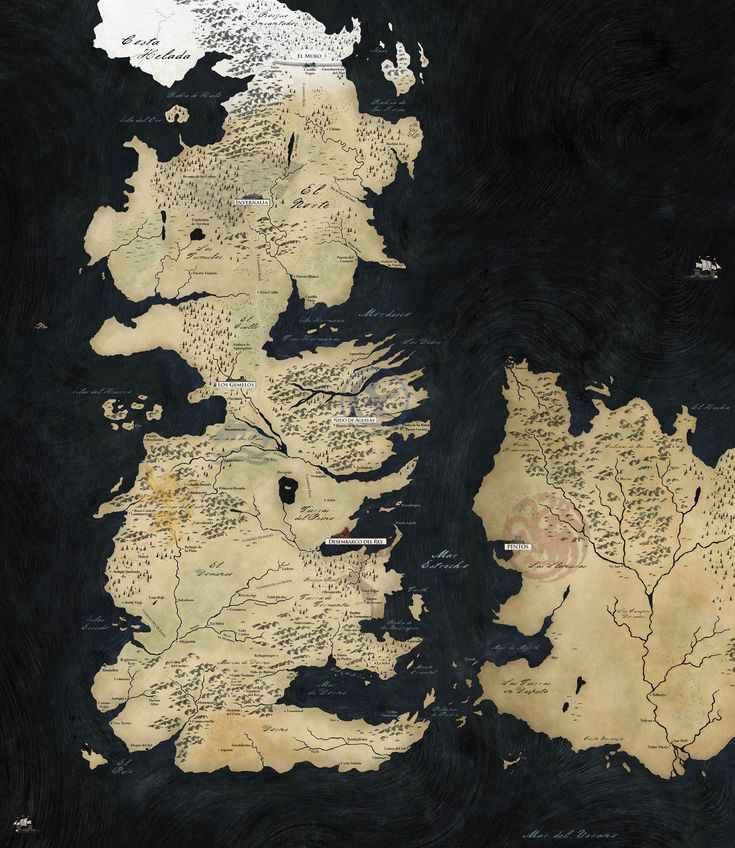 Mapa interactivo - Juego de Tronos - ANTENA 3 TV