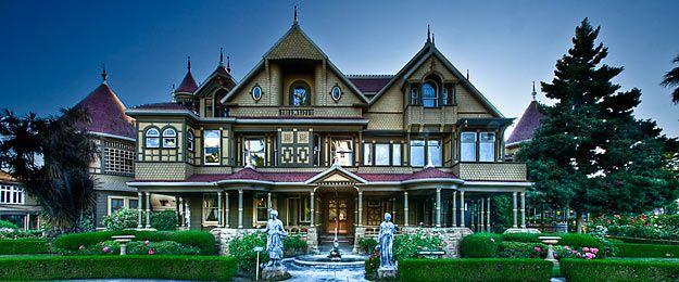 10 lieux effrayants dans le monde. Photo : ©  Winchester Mystery House