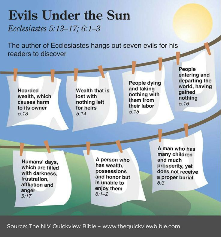 Evils Under the Sun