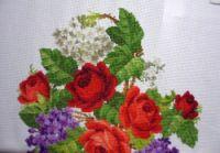 Gallery.ru / Фото #6 - Букет из роз, сирени и гортензии (завершен) от ombra - Maarinna