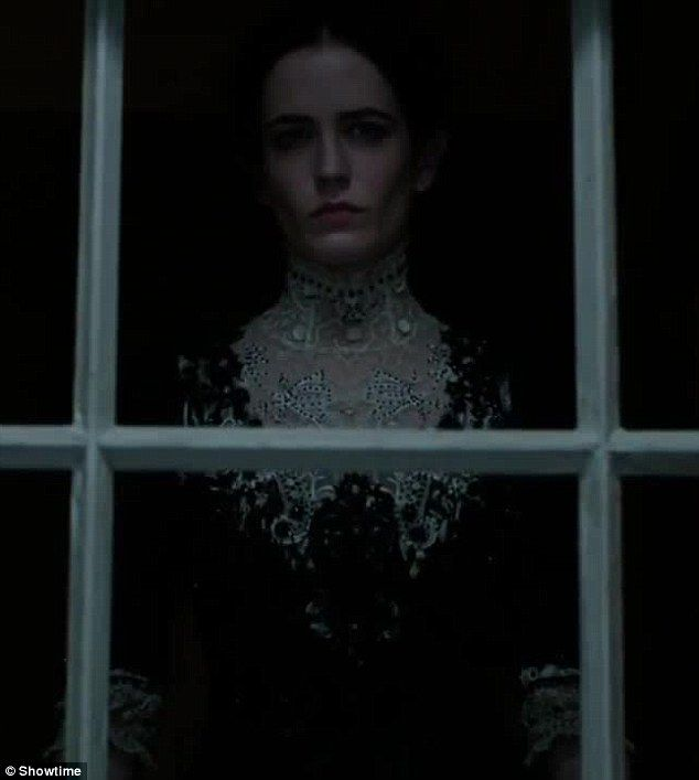 """Eva Green in """"Penny Dreadful"""" (2015)."""