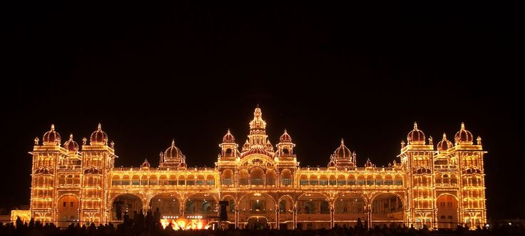 Mysore Palace - Mysore Incredible India tours @ www.tajvoyages.com.au