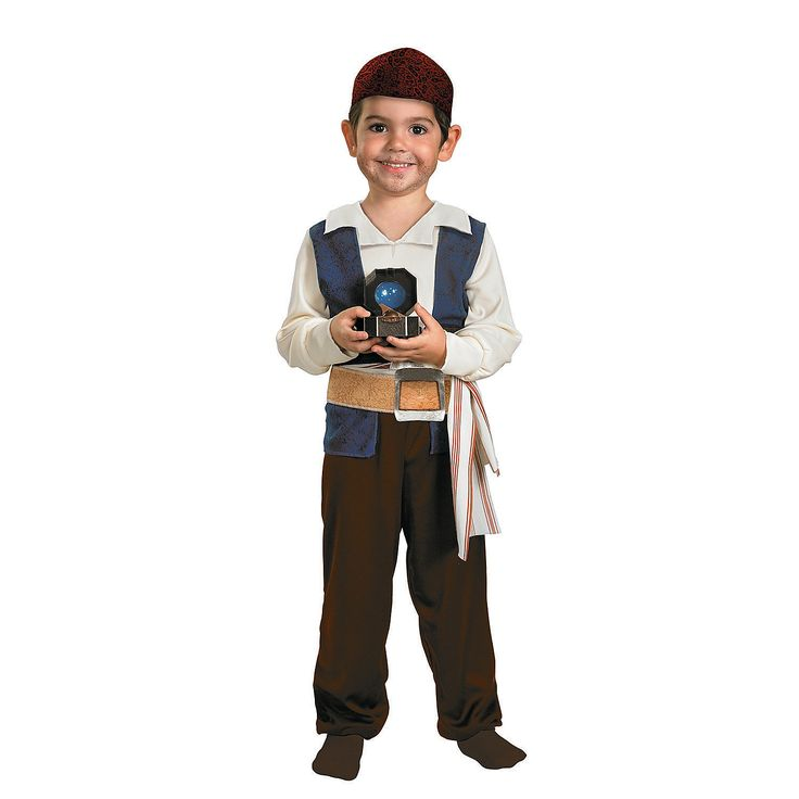 Baby/Toddler Pirates of The Caribbean Jack Sparrow Costume - OrientalTrading.com